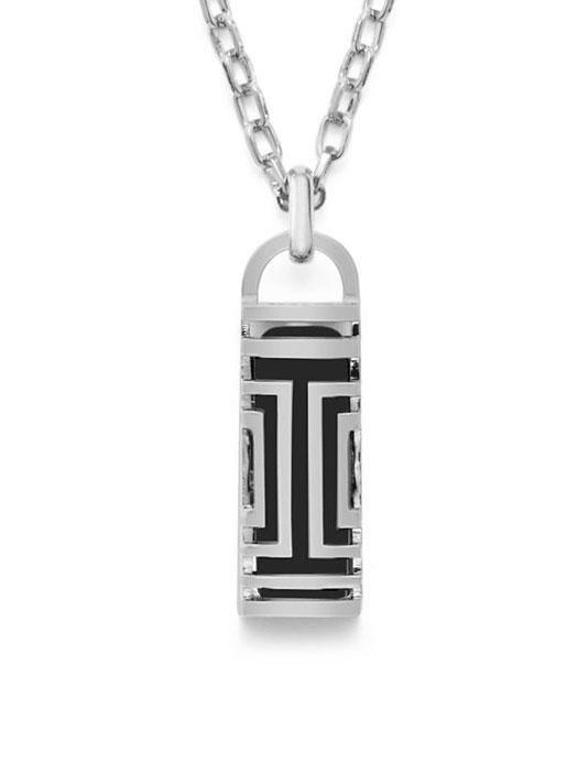 6b83330b1da Tory Burch Fitbit Flex Fret Pendant Necklace Empress Of Style
