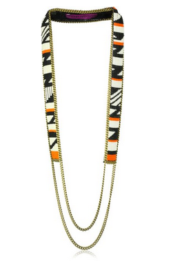 """Fiona Paxton """"AFRICAN SUSHI"""" Shanti Multi-Colored Necklace"""