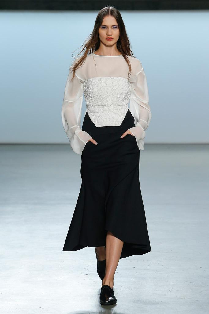 Sally LaPointe Spring 2015 Ready-to-Wear