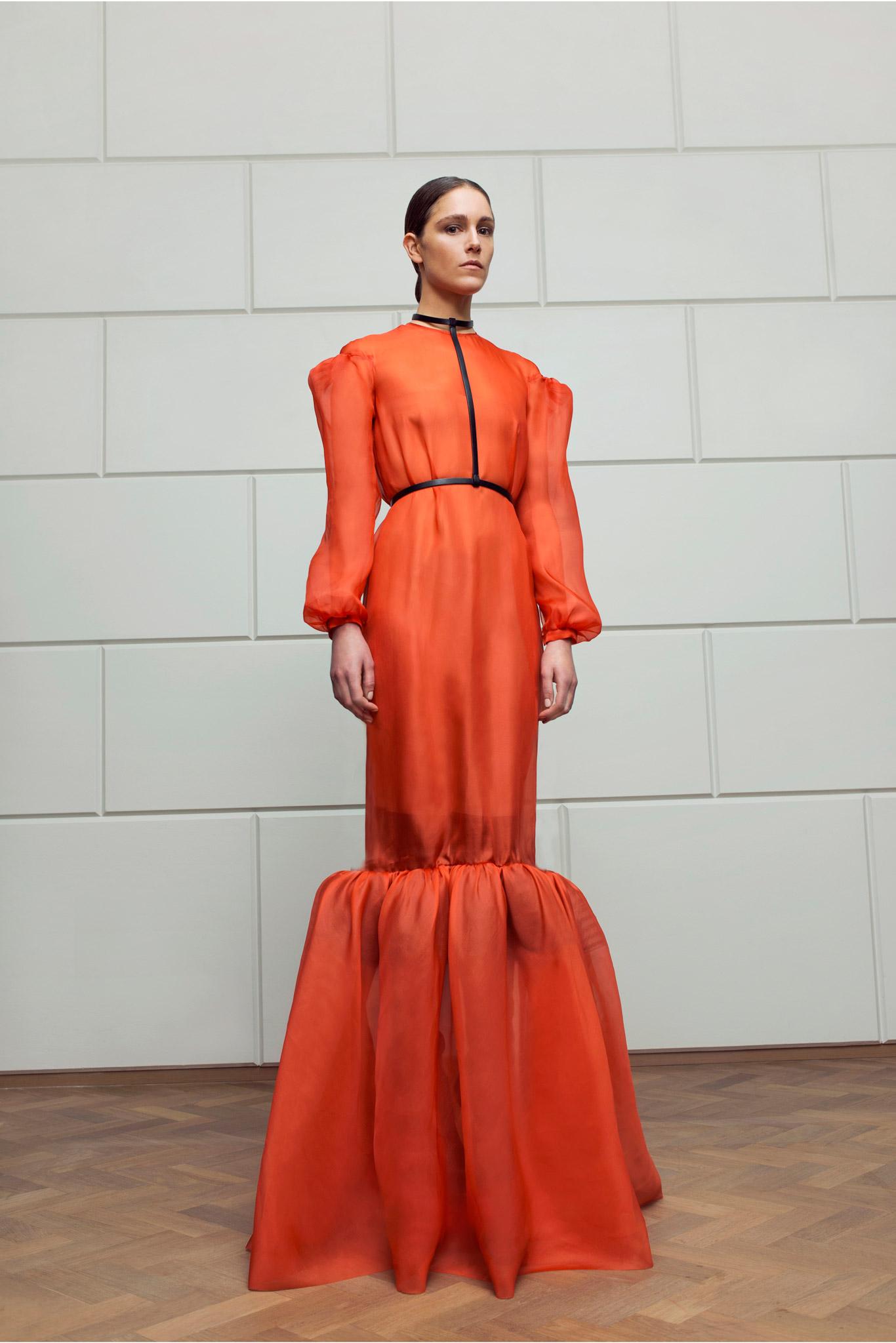 Marios Schwab | London Fashion Week Fall 2015 RTW